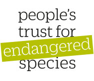 People's trust for endangered species logo